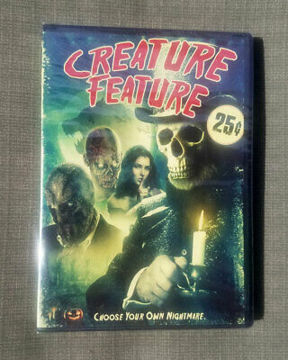 Creature Feature DVD Rare Horror Anthology 2016 BRAND NEW SEALED