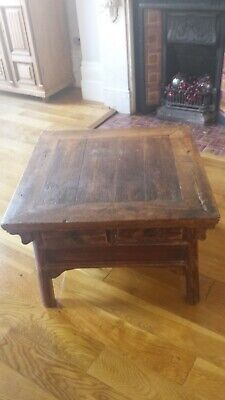 An Antique Chinese coffee table excellent condition 29.7 inches squ H 19.7inches