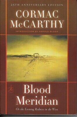 Cormac McCarthy - Blood Meridian - Hardback - 2010 - NEW - UNREAD - UK FREEPOST