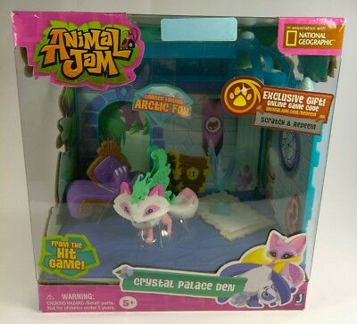 Animal Jam Crystal Palace Den Exclusive Playset Limited Edition