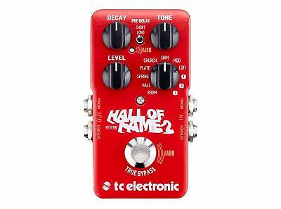 TC Electronic Hall of Fame 2 Reverb Pedal New!