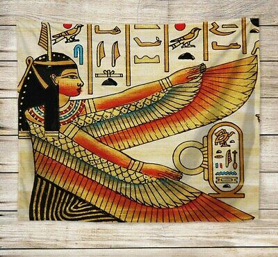US SELLER, Ancient Egyptian Goddess Isis tapestry dining room wall decor