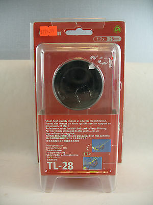 Canon TL-28 28mm 1.7X Telephoto Auxiliary Conversion Lens