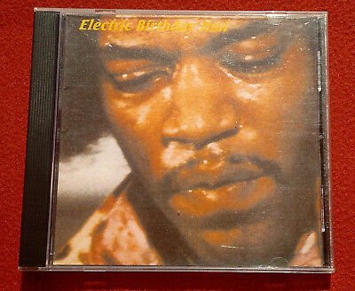 JIMI HENDRIX Electric Birthday CD-Rom unofficial bootleg