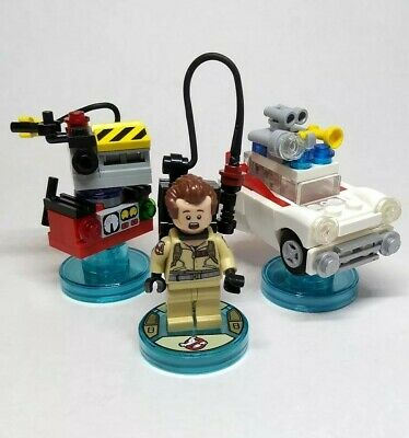 LEGO Dimensions Ghostbusters 71228 Level Pack Peter Venkman Ecto Ghost Trap