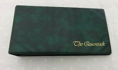 Presentation Cover Album Green By The Quantock with 26 Empty Sleeves VGC A26