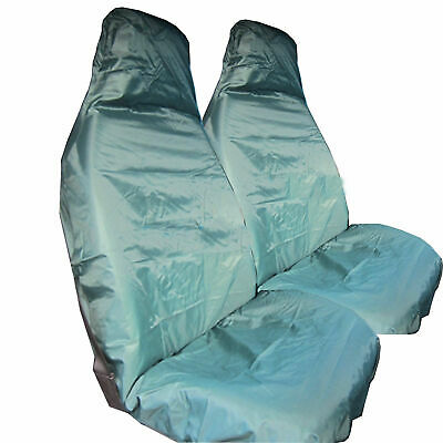 Toyota Yaris (2011-Date) 1+1 Green Front Waterproof Seat Covers Heavy Duty