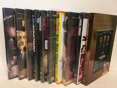 Lot of 10 Detective Thriller Spy Crime DVDs - SEALED