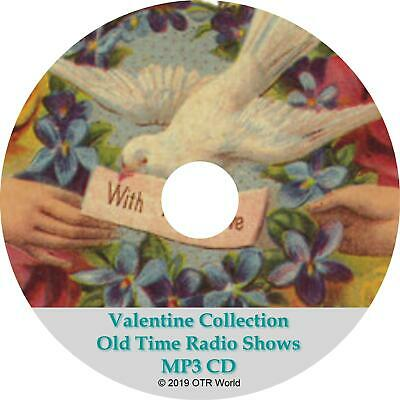 Valentine Collection OTR Old Time Radio Show MP3 On CD-R 32 Episodes