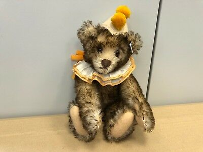 Steiff Tier 420023 TeddyBär Clown 30 cm. Top Zustand