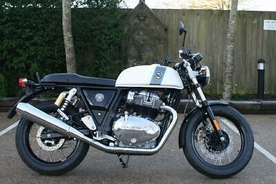 Royal Enfield Continental Gt 650 Twin Ice Queen White Interceptor Gt 650 Twin