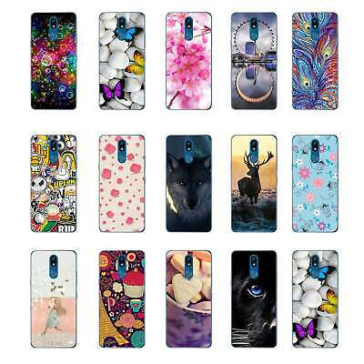 For LG K40 phone soft case Cover wolf star deer dragon butterfly