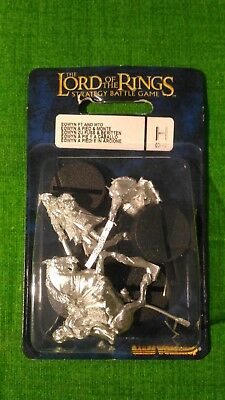 Lord of the rings - 03-42 - Eowyn foot and mounted - Games Workshop LOTR