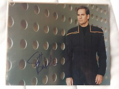 Star Trek ENTERPRISE - handsigniert - SCOTT BAKULA - Captain Jonathan Archer