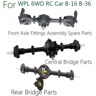 Metal Gear Sturdy Front+Central+Rear Axle Assembly Spare Part For WPL B36/16/14