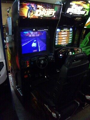 FAST AND FURIOUS Drift DRIVING ARCADE GAME  #V241