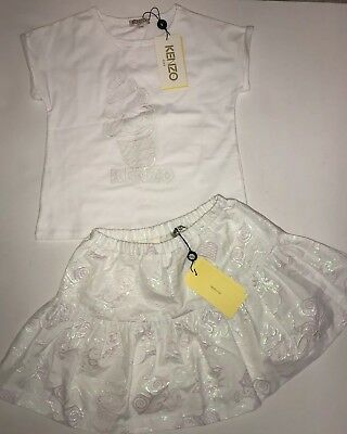 kenzo girls Outfit Skirt And Top BNWT