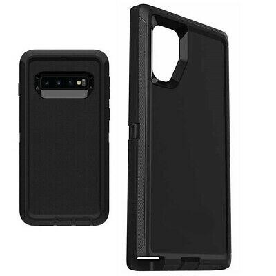 samsung galaxy s10 / s10 plus s10e Defender Case Impact Hard Rugged without Clip