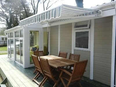 SOUTH BRITTANY FRANCE HOLIDAY CHALET MOBILE, QUINQUIS,  24th to 31st AUGUST £550