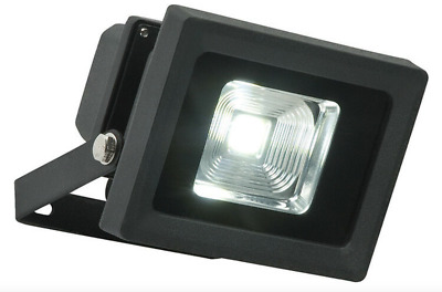 Single Powerful LED Outdoor Garden Driveway Security Wall Light Textured Black