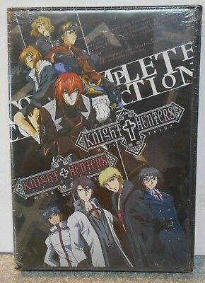 Knight Hunters/Knight Hunters Eternity: Complete (DVD 2009 8-Disc)RARE ANIME NEW