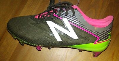 2892c23e4563e NEW BALANCE FURON fantom fit Soccer Cleats Military green Pink youth Size 4