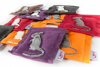 4cats Square (ONE) Cushion Mouse – Catnip toy