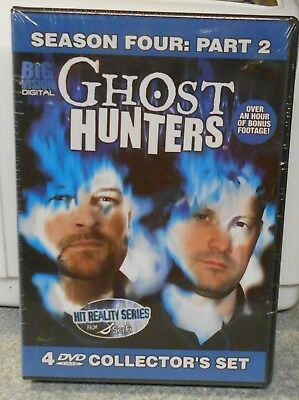 Ghost Hunters  Season 4: Part 2 (DVD 2009 4-Disc Set Sci Fi) VERY RARE BRAND NEW