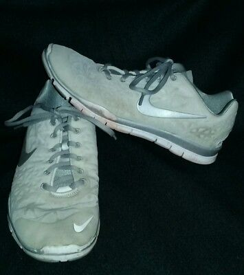 outlet store sale 71ff9 f13e1 NIKE FREE TR FIT 3 WOMEN S SHOES SIZE 9.5 White Silver 555158-101 ~ Free