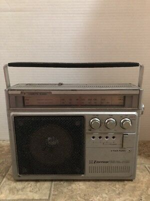 Vintage EMERSON TCX-53 8 Track Cassette Player free shipping