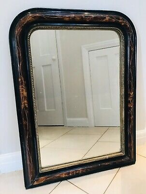 LOVELY FRENCH ANTIQUE 19th CENTURY INLAID MIRROR