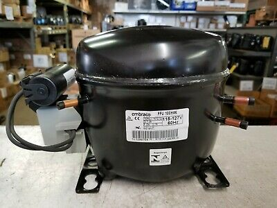 EMBRACO COMP R-134A Btu 6626 T6213Z Replaced By Embraco New Part