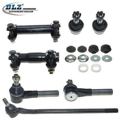 9 New Suspension Ball Joint Tie Rod Ends Kit Fits 1980-96 Ford F-150 4WD 4x4