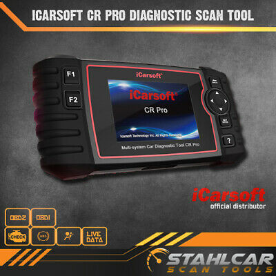 iCarsoft CR Pro Multi Makes All Systems Car Diagnostic Scan Tool
