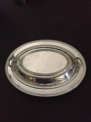 CAMUSSO Peruvian Sterling Silver 3pc Serving Dish 39.29 Troy Ounces REDUCED!!