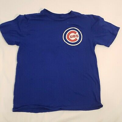 c4c566d68 CHICAGO CUBS ADDISON Russell Majestic MLB Youth Official Player T ...