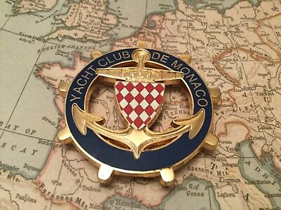 Monte Carlo Yacht Club De Monaco Car Grille Badge