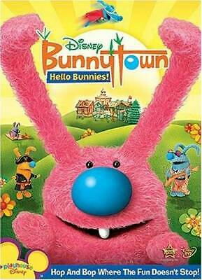 DISNEY BUNNYTOWN HELLO Bunnies! Dvd (Playhouse Disney) 2009 - $7 99
