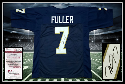 dab3d5b15 RUDY RUETTIGER NOTRE Dame Signed Autograph Jersey