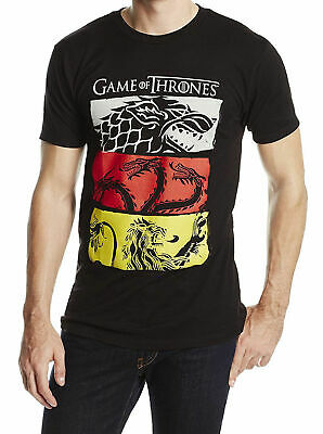 HBO Game Of Thrones 3 HOUSE SYMBOLS SIGILS T-Shirt NWT Licensed S-3XL