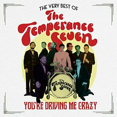 Temperance Seven - Youre Driving Me Crazy - CD - New