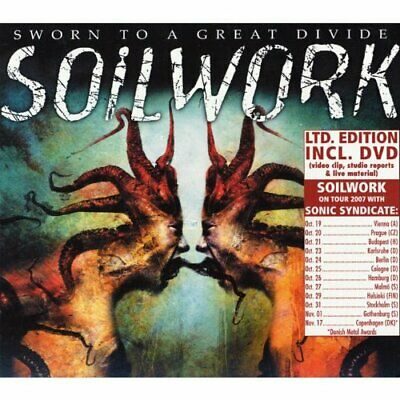 Soilwork - Sworn To A Great Divide - CD/DVD - New