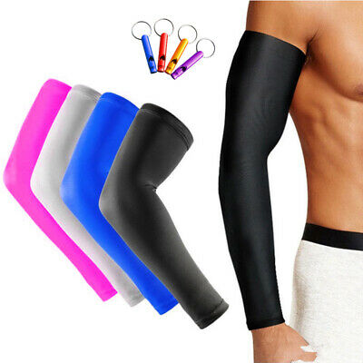 89a186069d Sports Basketball Shooting Cycling Compression Arm Sleeve Elbow Protector  Pad