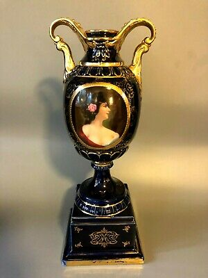 Royal Vienna Porcelain Urn Large Vase