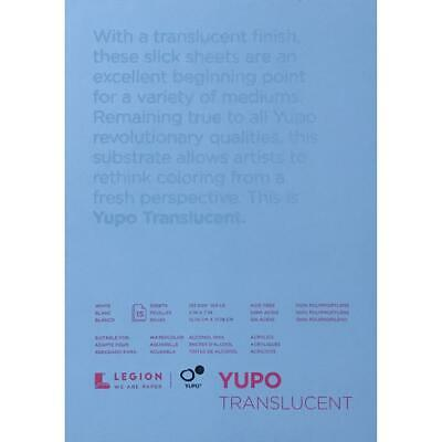 Yupo Paper Pad - Translucent 5x7 Small - 15 Sheets