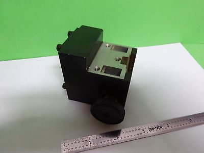 MICROSCOPE PART LEITZ GERMANY CONDENSER HOLDER for OPTICS AS IS BIN#Y5-34