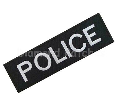 metropolitan police Embroidered Iron Sew On Badge Policeman Officer patch