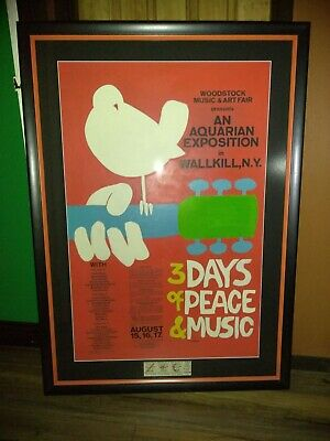 Woodstock Wallkill Poster *** The Rarest Of Them All ***