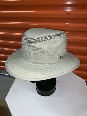b84d1a02 Tilley Endurables Chinstrap Airflo Safari Outback Hat LTM5 Sz 7 5/8
