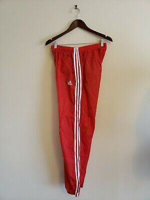Mens Adidas Sst 1979 Training Track Pants In Collegiate Red